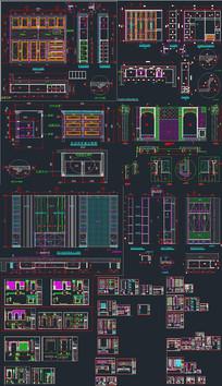 全屋定制深化CAD