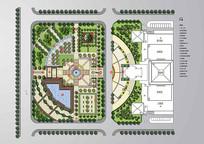 文化广场景观设计彩平 JPG
