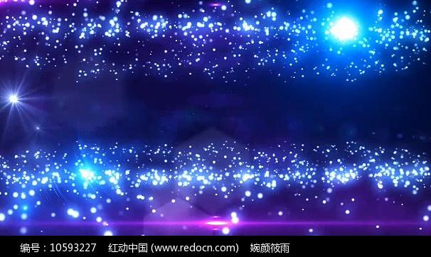 星空粒子星光晚会婚庆视频素材