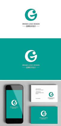 字母G婴童母婴产品标志设计