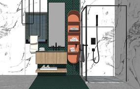 北欧浴室柜洗手台