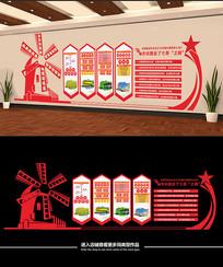 立体新农村建设乡村振兴战略文化墙
