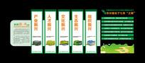 新农村建设乡村振兴战略文化墙展板