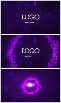简洁酷炫logo片头视频模板