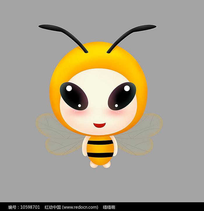 原创手绘可爱卡通蜜蜂图片