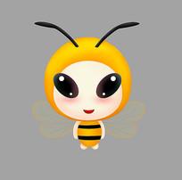 原創手繪可愛卡通蜜蜂
