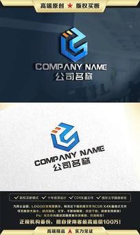 S字母标志S字母LOGO设计 CDR