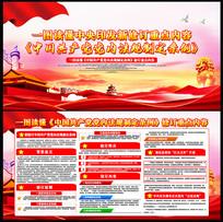 图解中国共产党党内法规制定条例展板