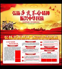 辛亥革命108周年宣传栏展板