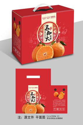 新年喜庆不知火礼盒包装设计