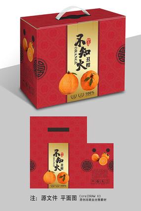 喜庆不知火礼盒包装设计