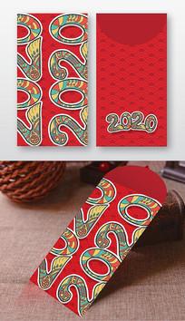 2020年鼠年红包设计