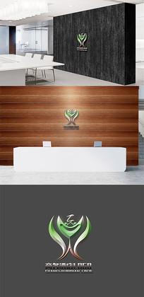 高端大气商务酒店LOGO设计