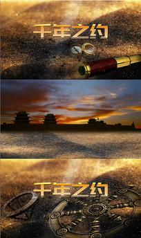 千年之约配乐视频背景素材