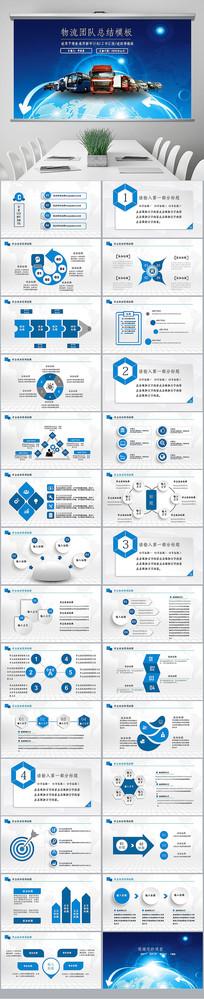 商务供应链管理模板企业管理商务ppt