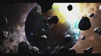 震撼浩瀚企业片头真实地球AE视频模板