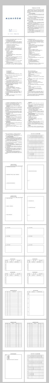 班主任工作手册 CDR