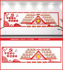 党员展厅荣誉墙文化墙