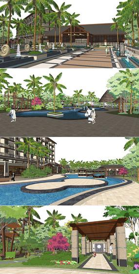 东南亚度假酒店