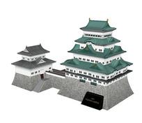 sketch日本名古屋城古建筑三维模型 skp