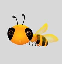 原创手绘可爱卡通蜜蜂