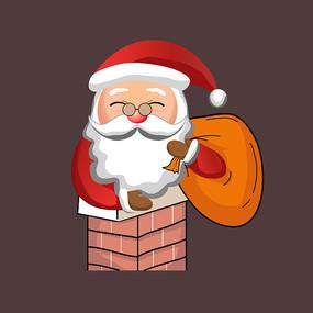 原创圣诞老人表情动作设计 AI