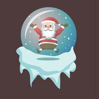圣诞老人原创手绘