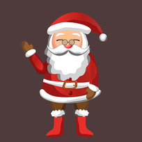 可爱的圣诞老人图片