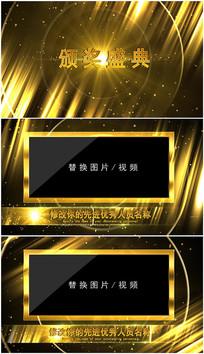 PR大气颁奖表彰视频模板