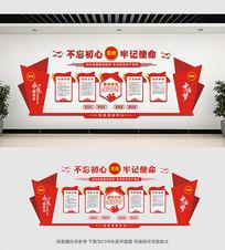 党员活动室文化墙设计