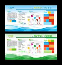 企业简介企业文化墙展板