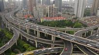 大都市交通繁忙视频素材 mp4