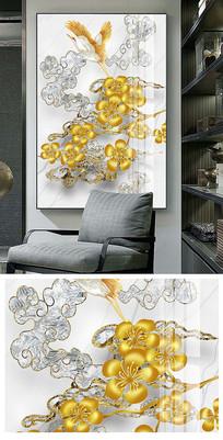 新中式手绘花鸟装饰画
