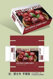 苹果水果包装 CDR