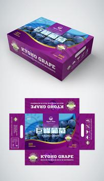 葡萄礼盒包装设计