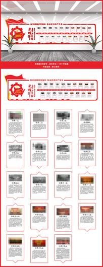 党代会党的光辉历程文化墙