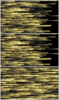 唯美金色粒子雨视频背景素材模板