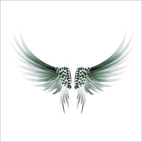 翅膀矢量图