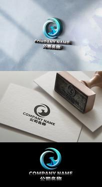高端大气公司老鹰标志LOGO