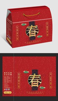 红庆新春礼盒包装设计