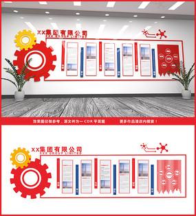 企业文化墙造型
