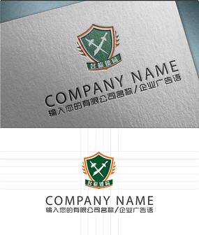 物流公司镖局LOGO标志