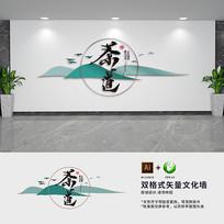 禅意茶文化墙