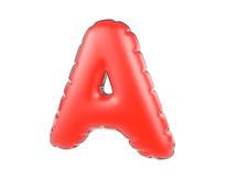 原创元素圣诞节促销气球字母A