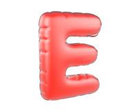 原创元素圣诞节促销气球字母E