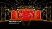 百乐门舞美3d设计效果图