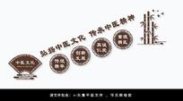 弘扬中医文化中医文化墙设计