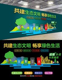 垃圾分类社区宣传文化墙