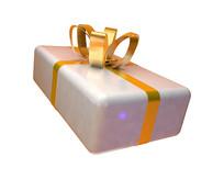 原创圣诞促销白色礼盒