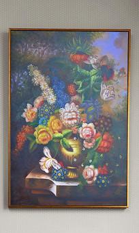 欧美古典花卉油画